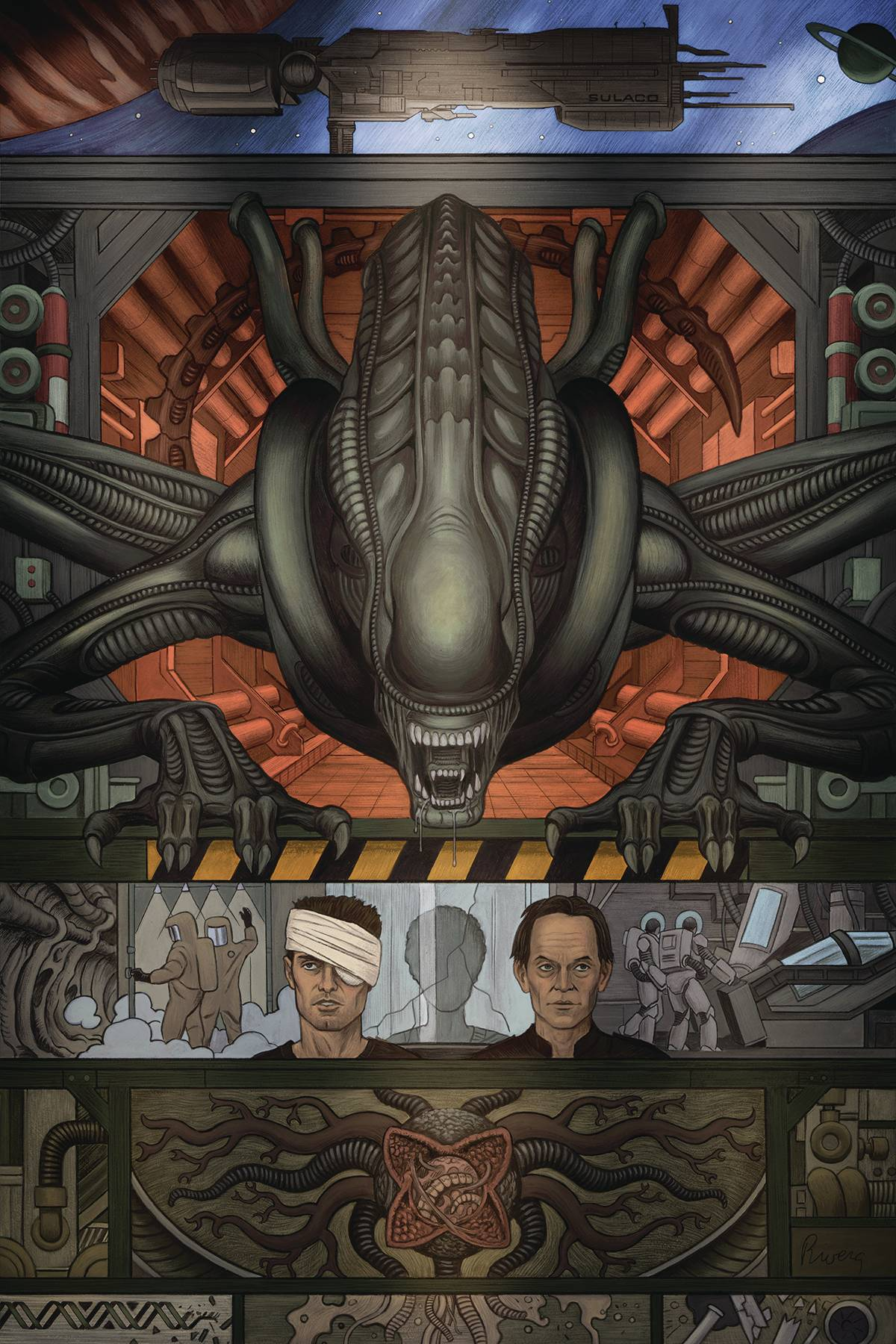 WILLIAM GIBSON ALIEN 3 #1