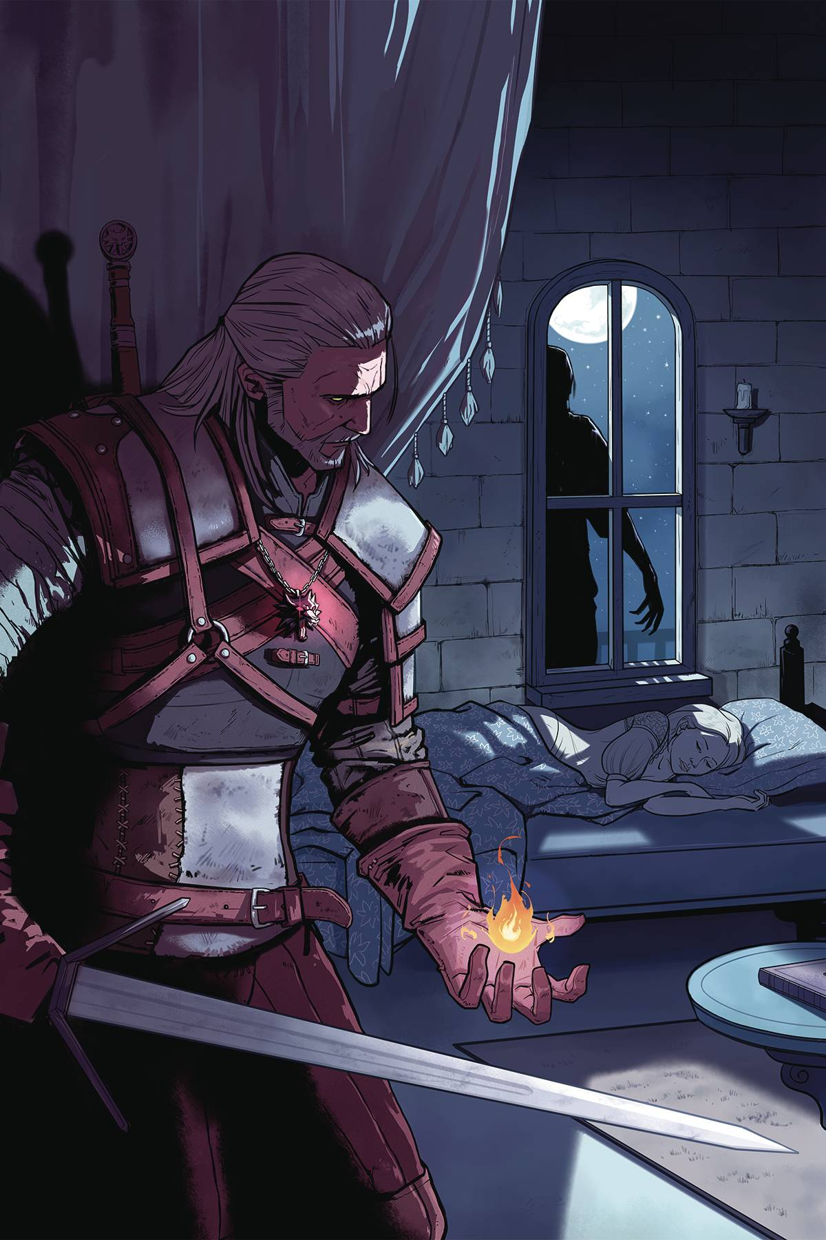WITCHER #1 OF FLESH & FLAME