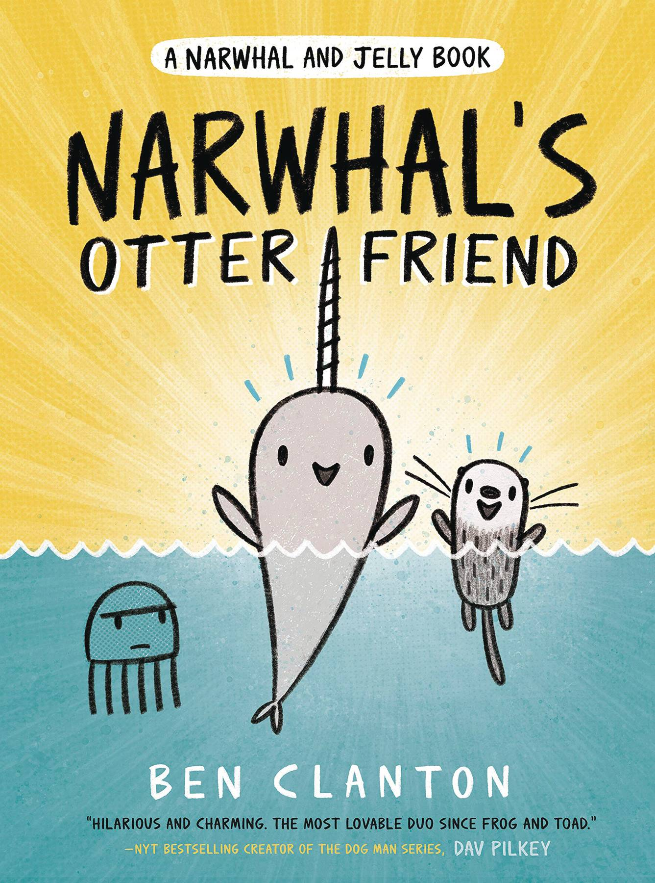 NARWHAL & JELLY HC GN VOL 04 OTTER FRIEND