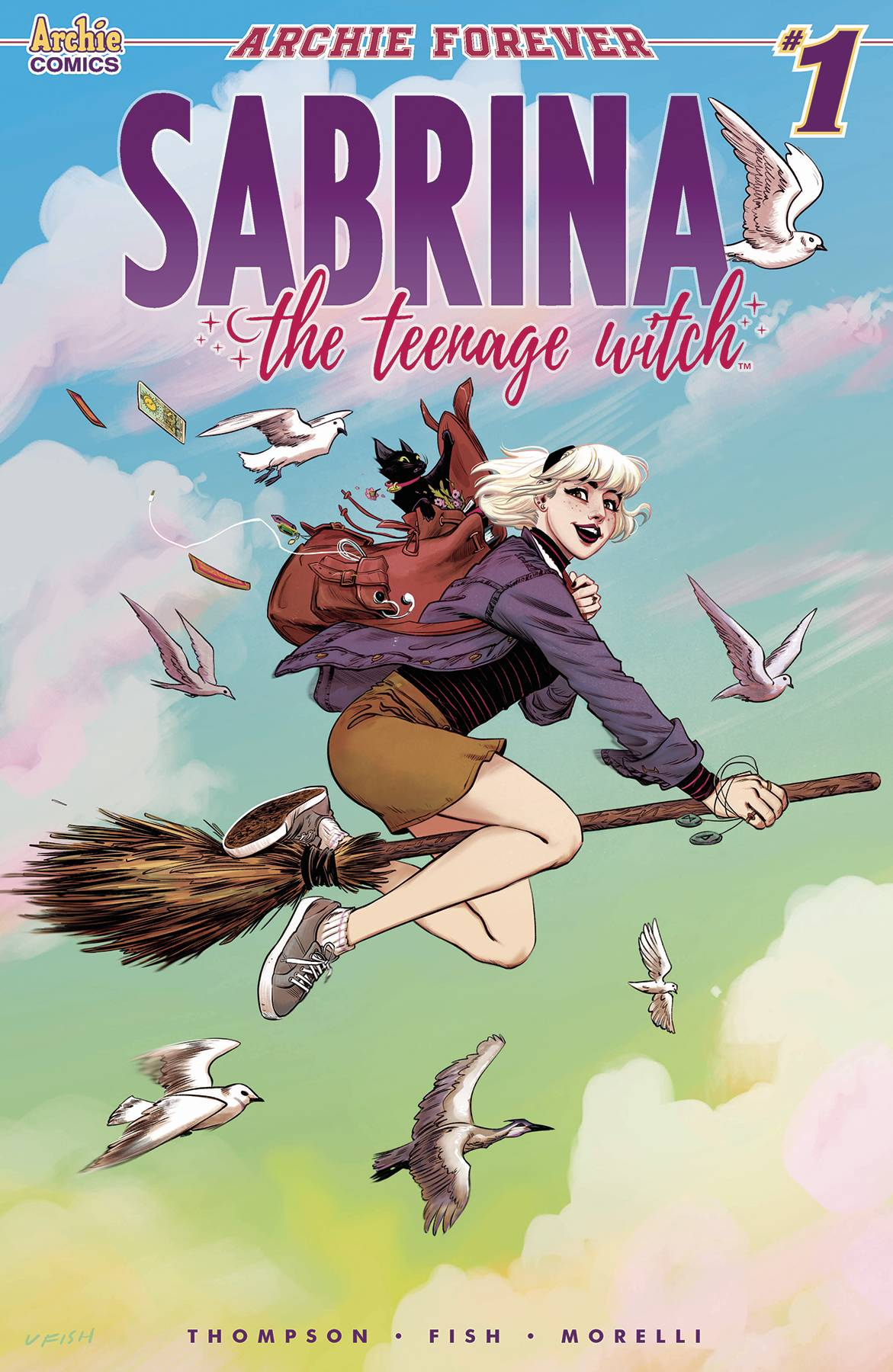 SABRINA TEENAGE WITCH #1
