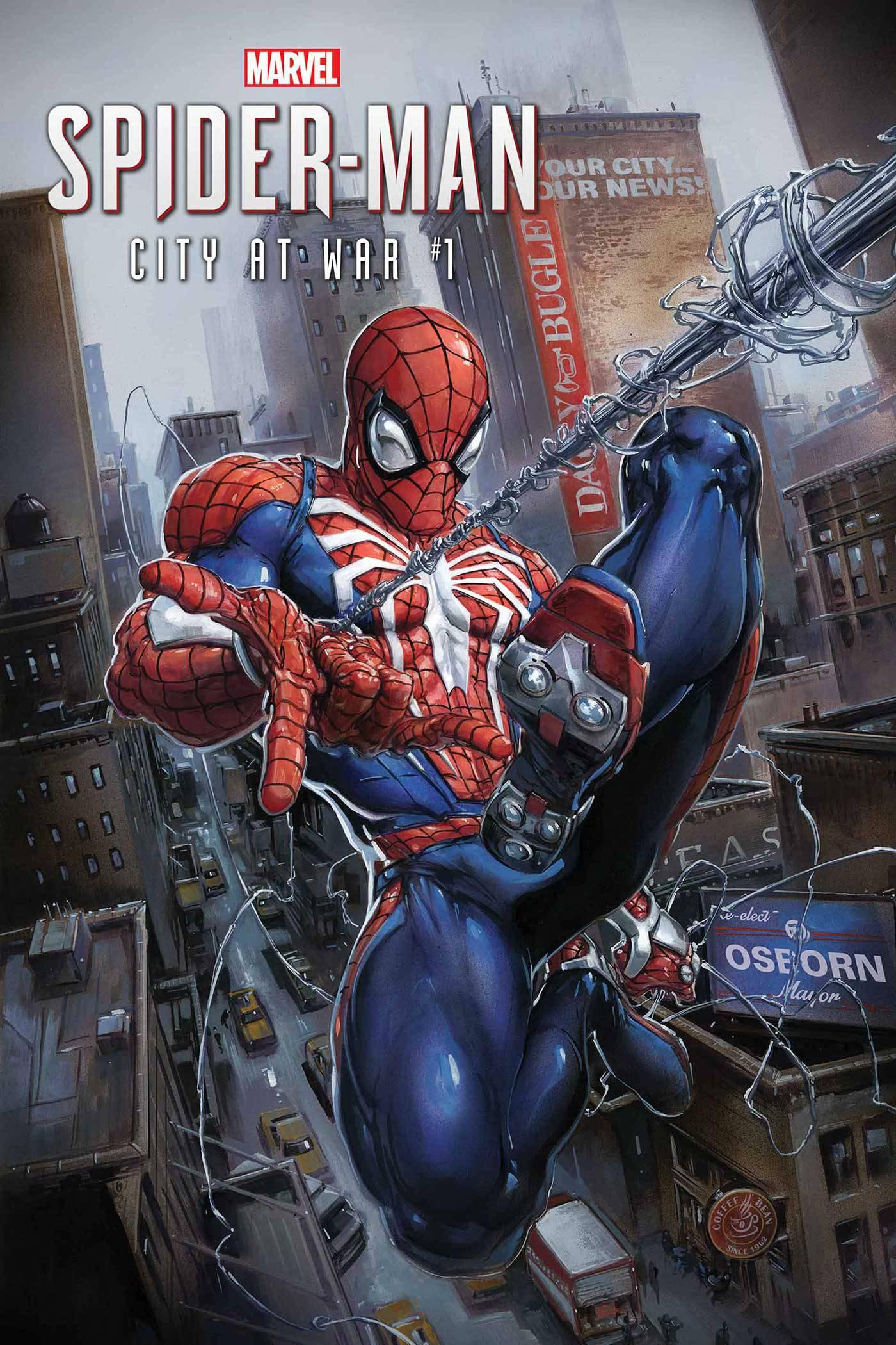 MARVELS SPIDER-MAN CITY AT WAR #1