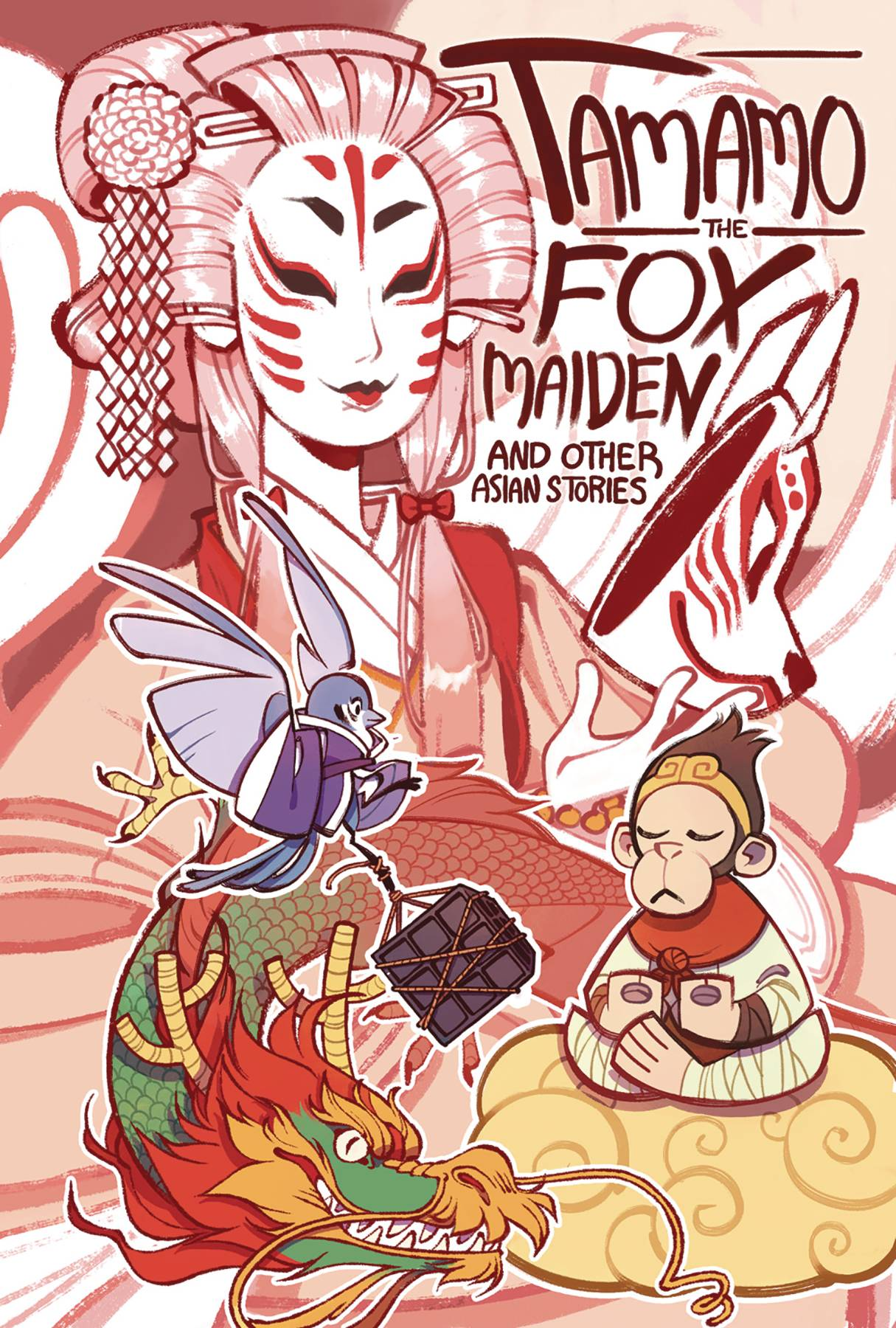 TAMAMO THE FOX MAIDEN AND OTHER ASIAN STORIES GN