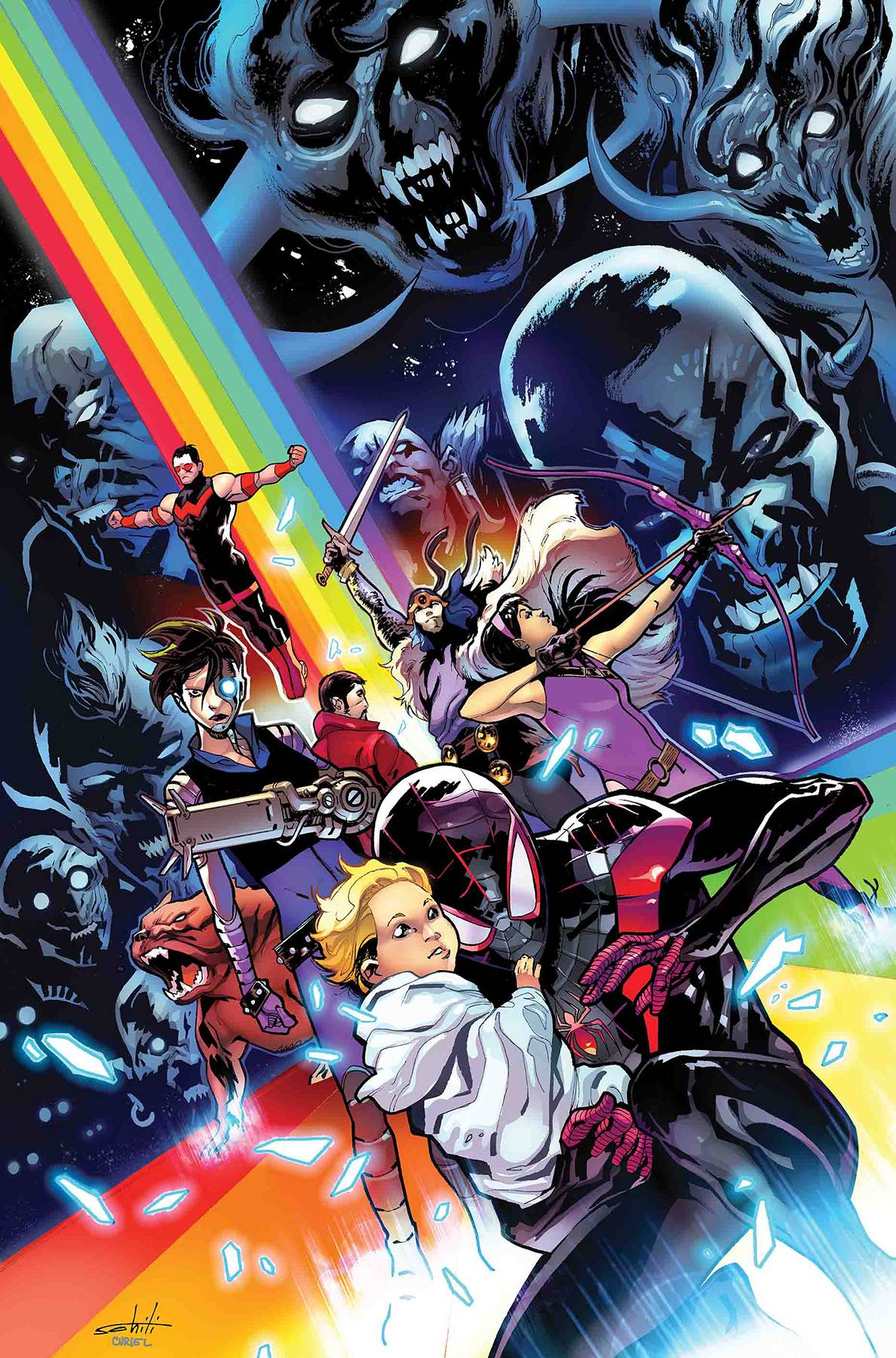 WAR OF REALMS JOURNEY INTO MYSTERY #1