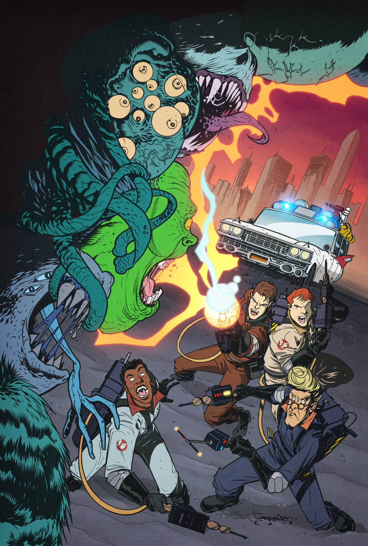 GHOSTBUSTERS 35TH ANNIV REAL GHOSTBUSTERS