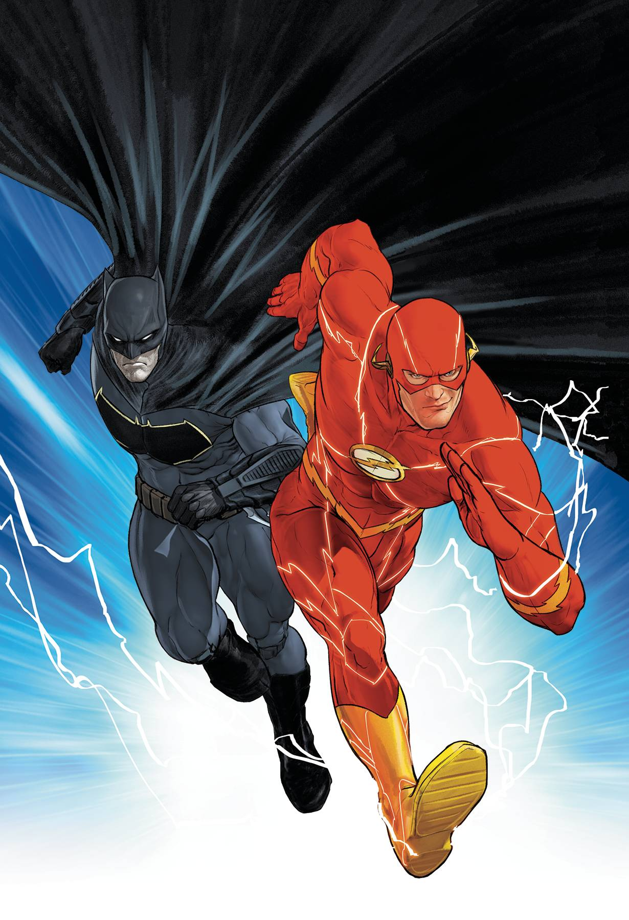 BATMAN FLASH THE BUTTON TP INTL ED
