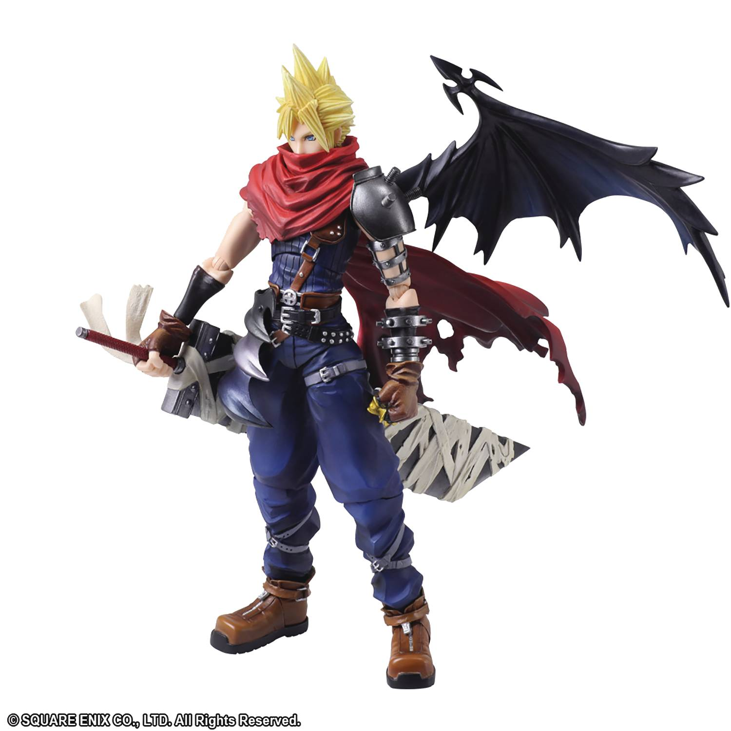 FINAL FANTASY BRING ARTS CLOUD STRIFE ANOTHER FORM VAR AF