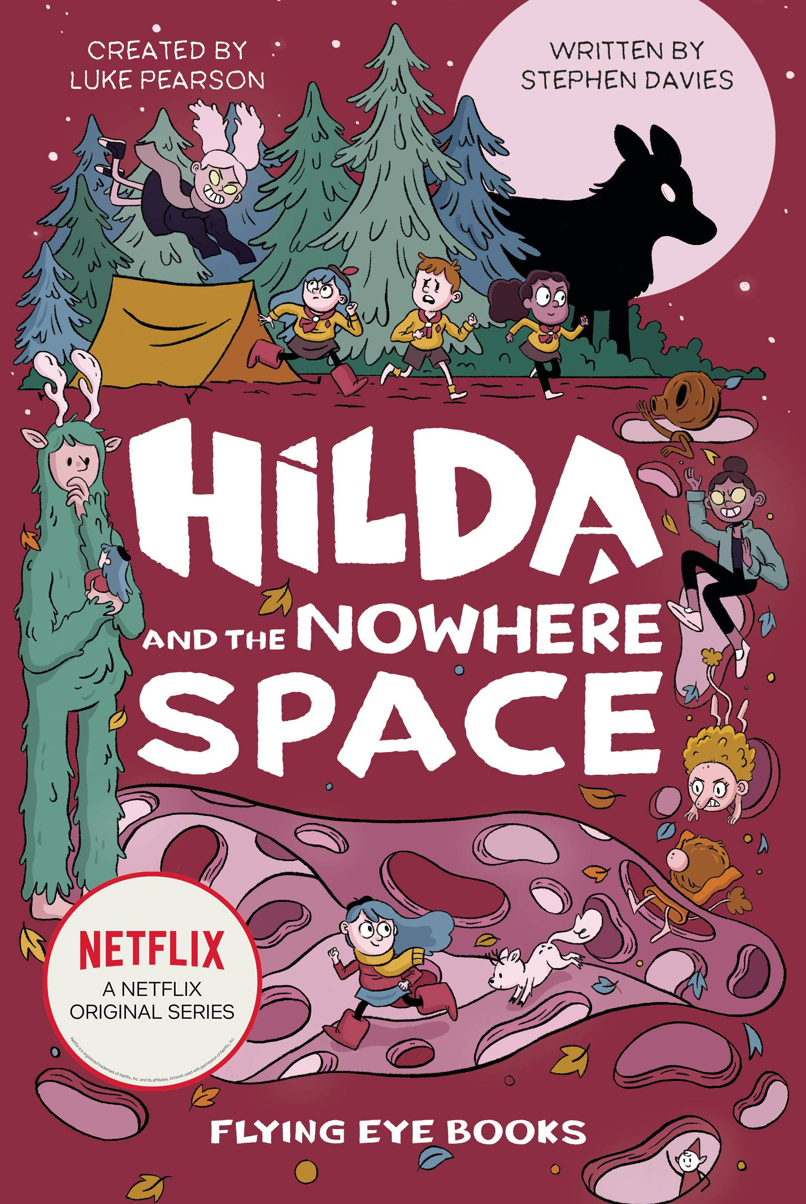 HILDA & NOWHERE SPACE NETFLIX TIE IN NOVEL