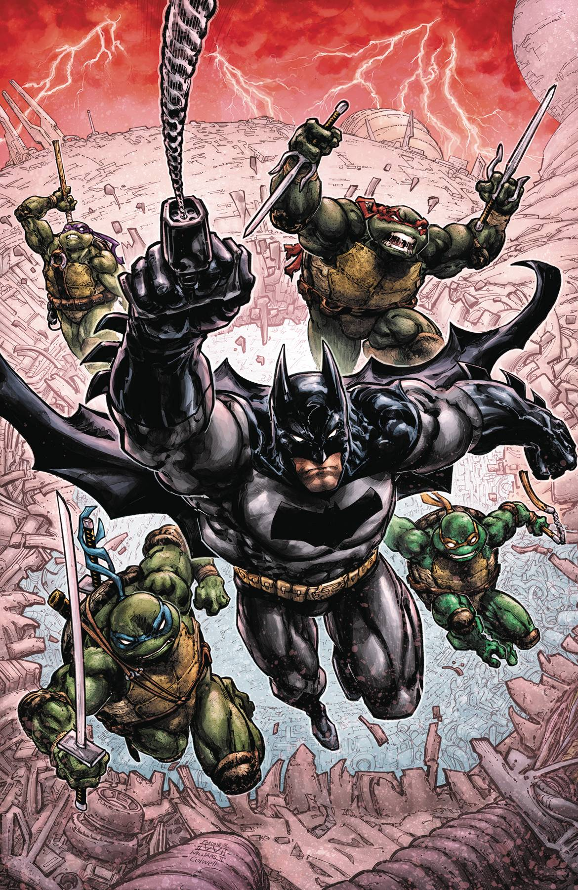 BATMAN TEENAGE MUTANT NINJA TURTLES III #1