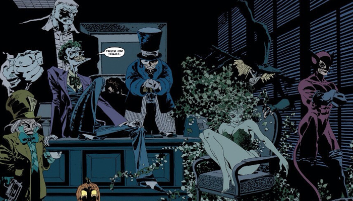 Batman: The Long Halloween started publishing in1996