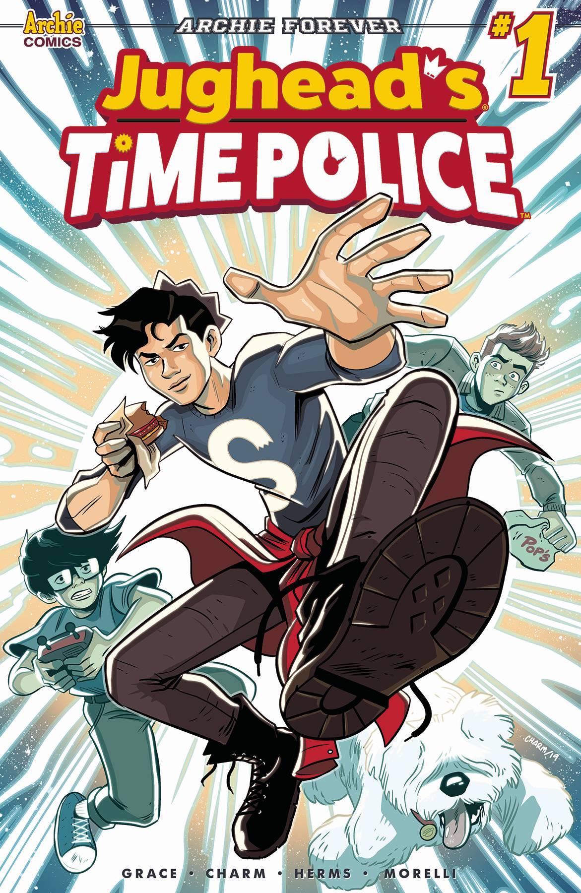JUGHEAD TIME POLICE #1
