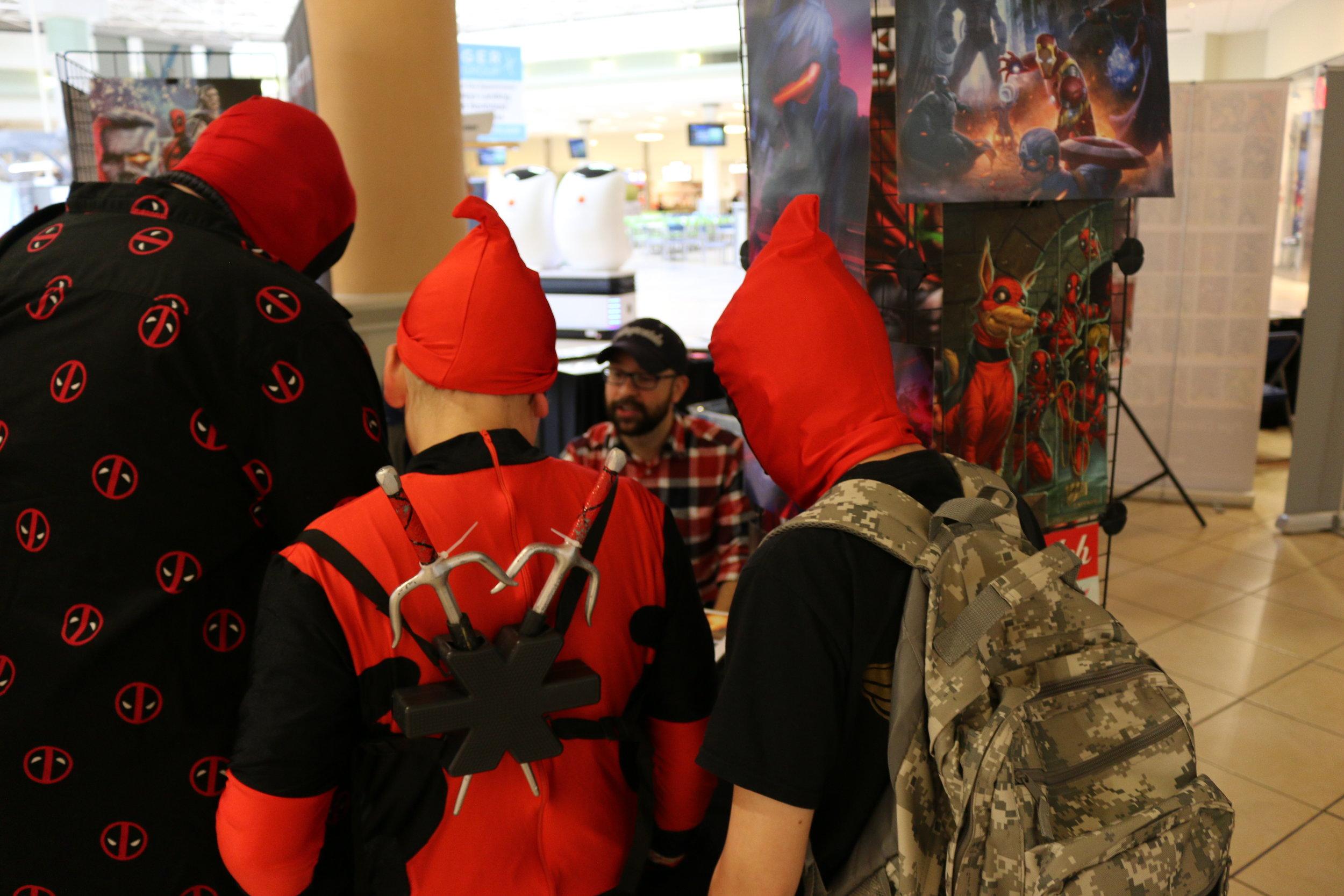 Deadpools Meet Deadpool Artist