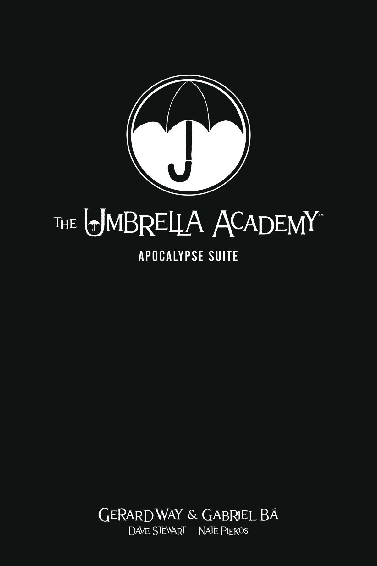 UMBRELLA ACADEMY LIBRARY EDITION HC VOL 01