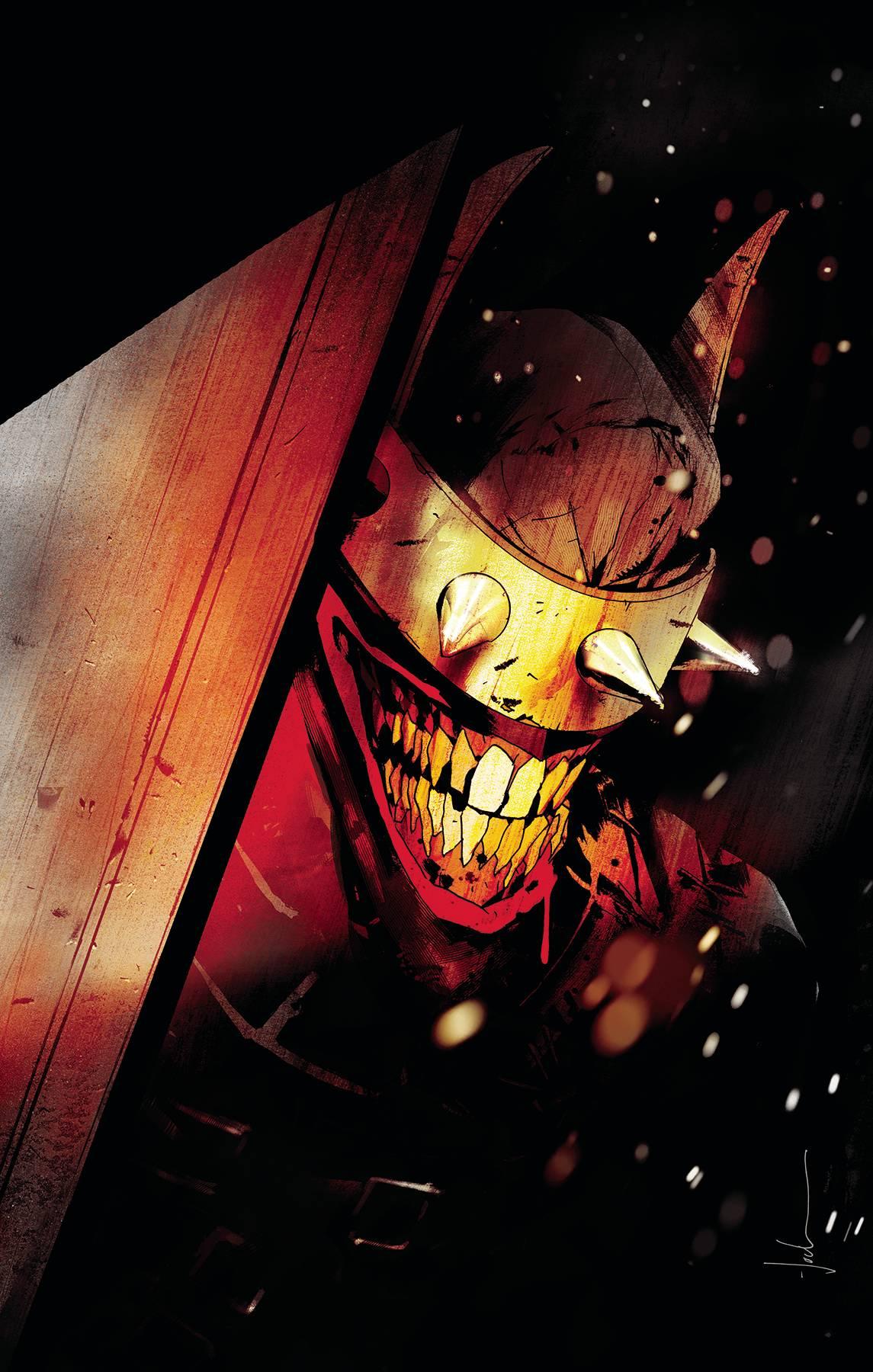 BATMAN WHO LAUGHS HC