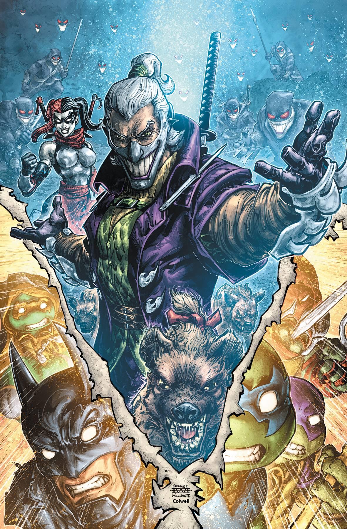 BATMAN TEENAGE MUTANT NINJA TURTLES III #4 (OF 6)