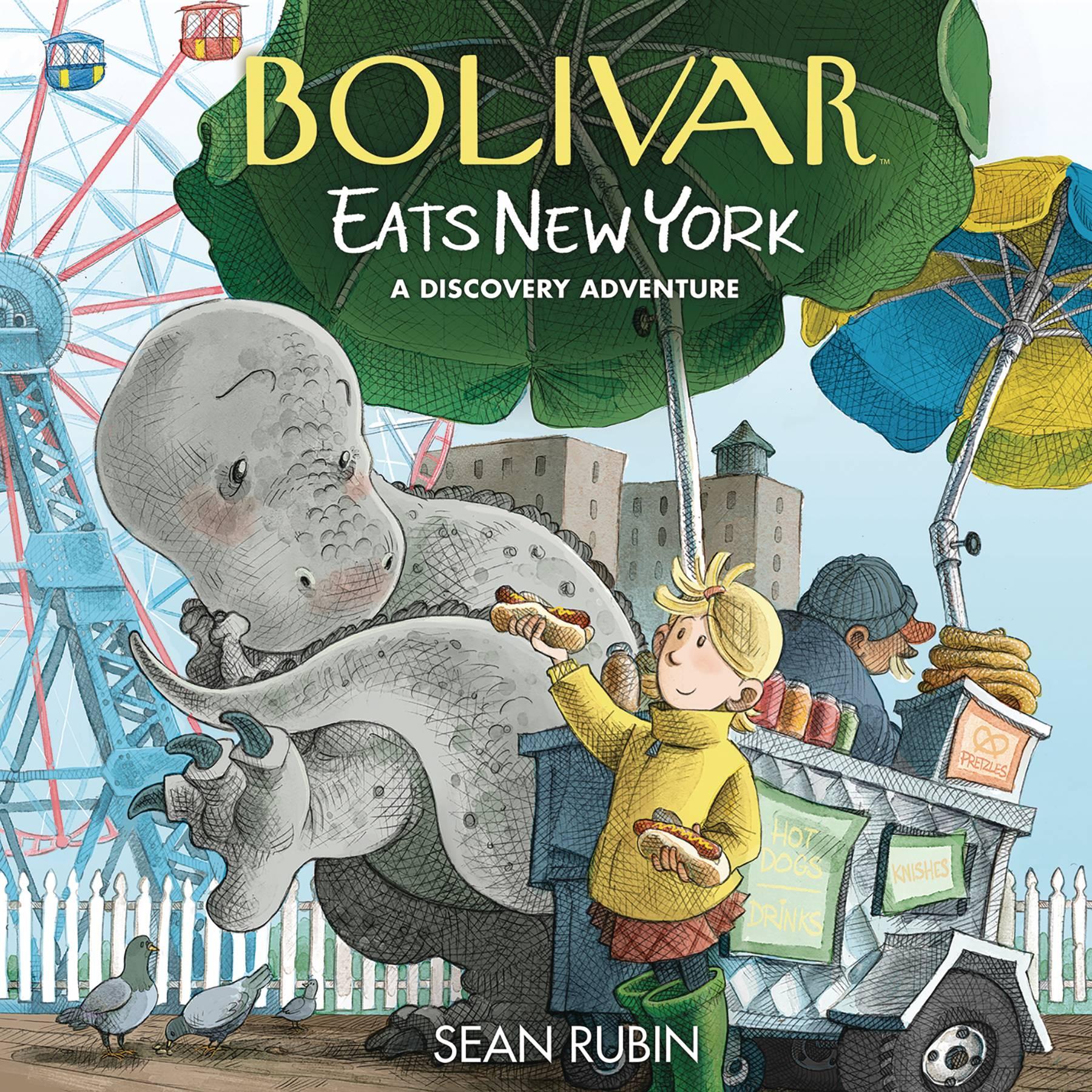 BOLIVAR EATS NEW YORK HC DISCOVERY ADVENTURE