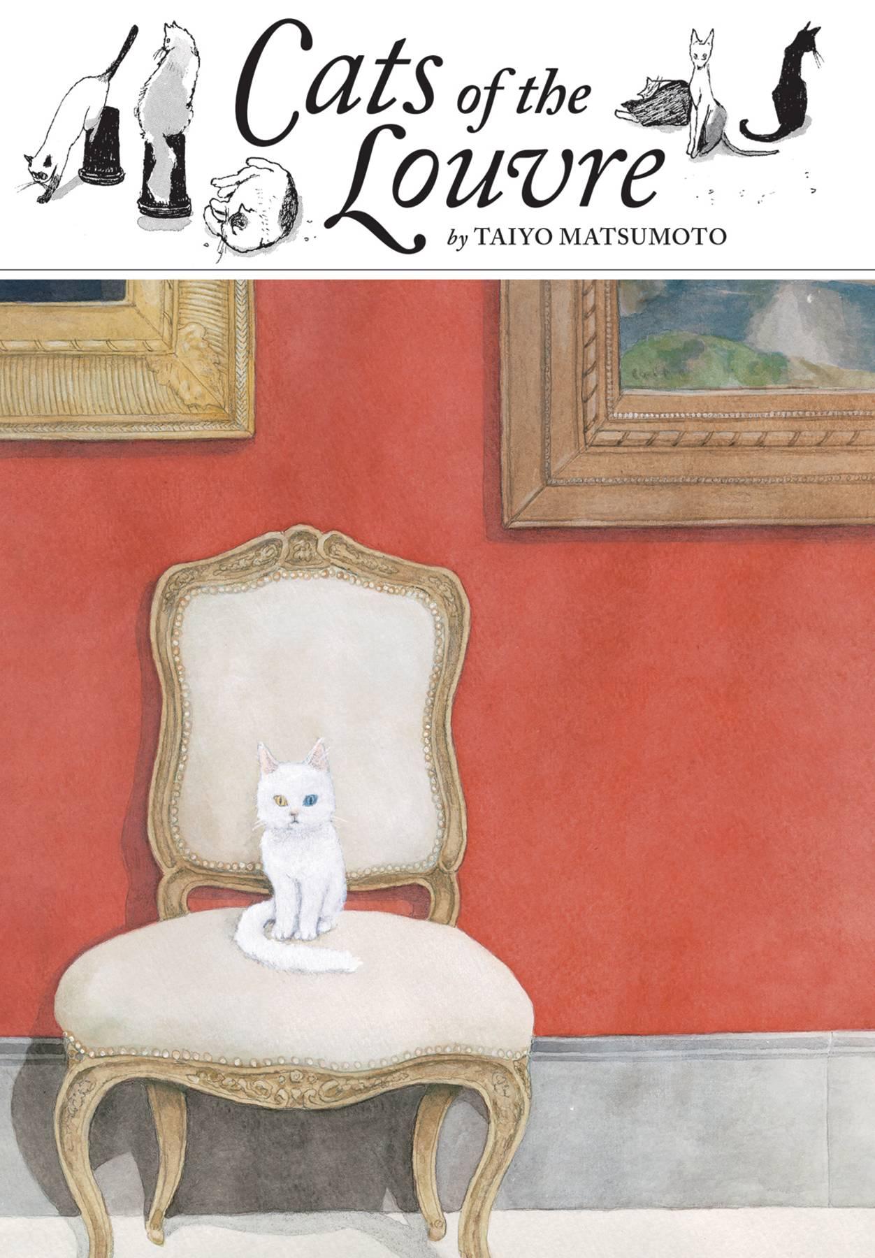 CATS OF THE LOUVRE MANGA HC