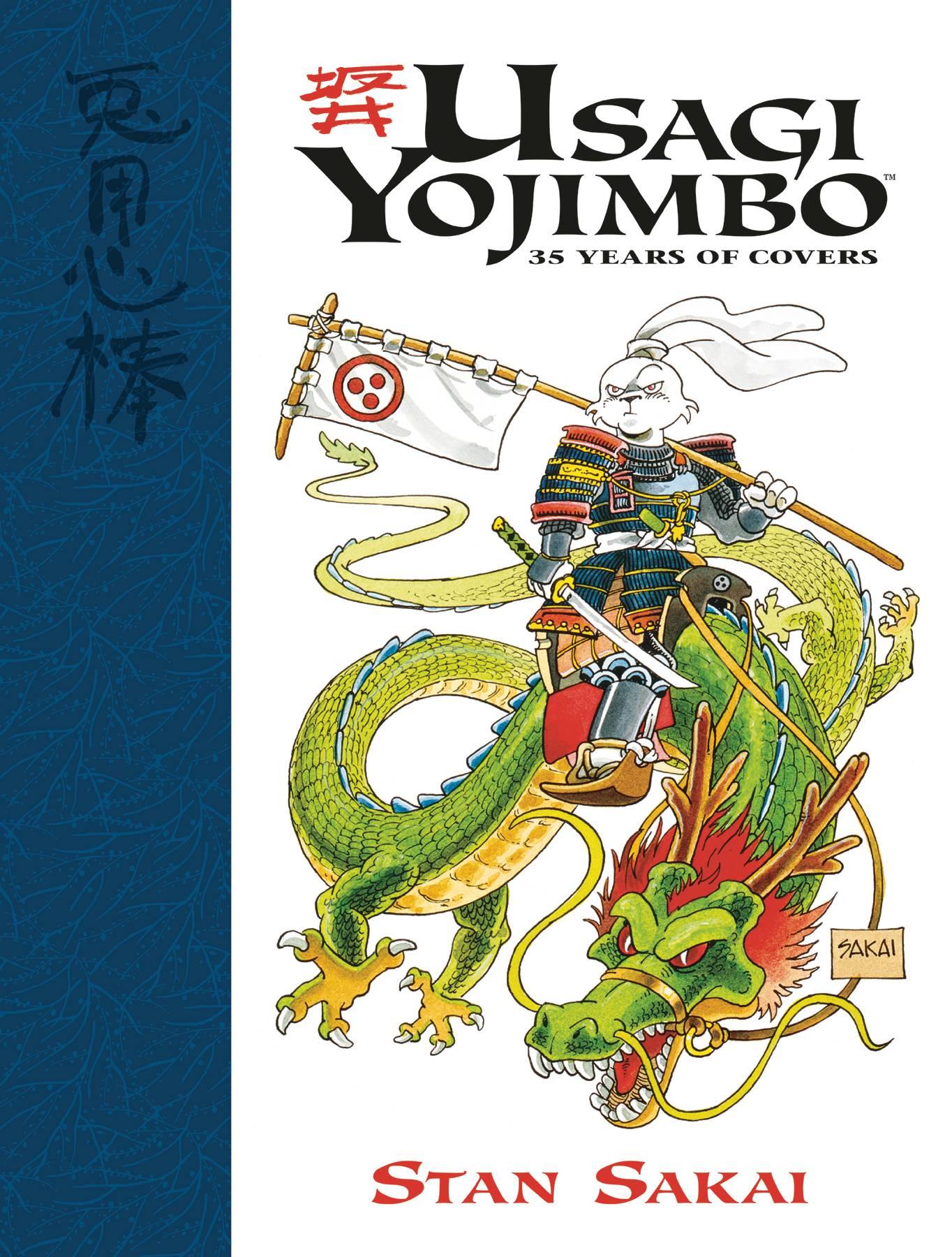 Usagi Yojimbo: 35 Years of Covers HC