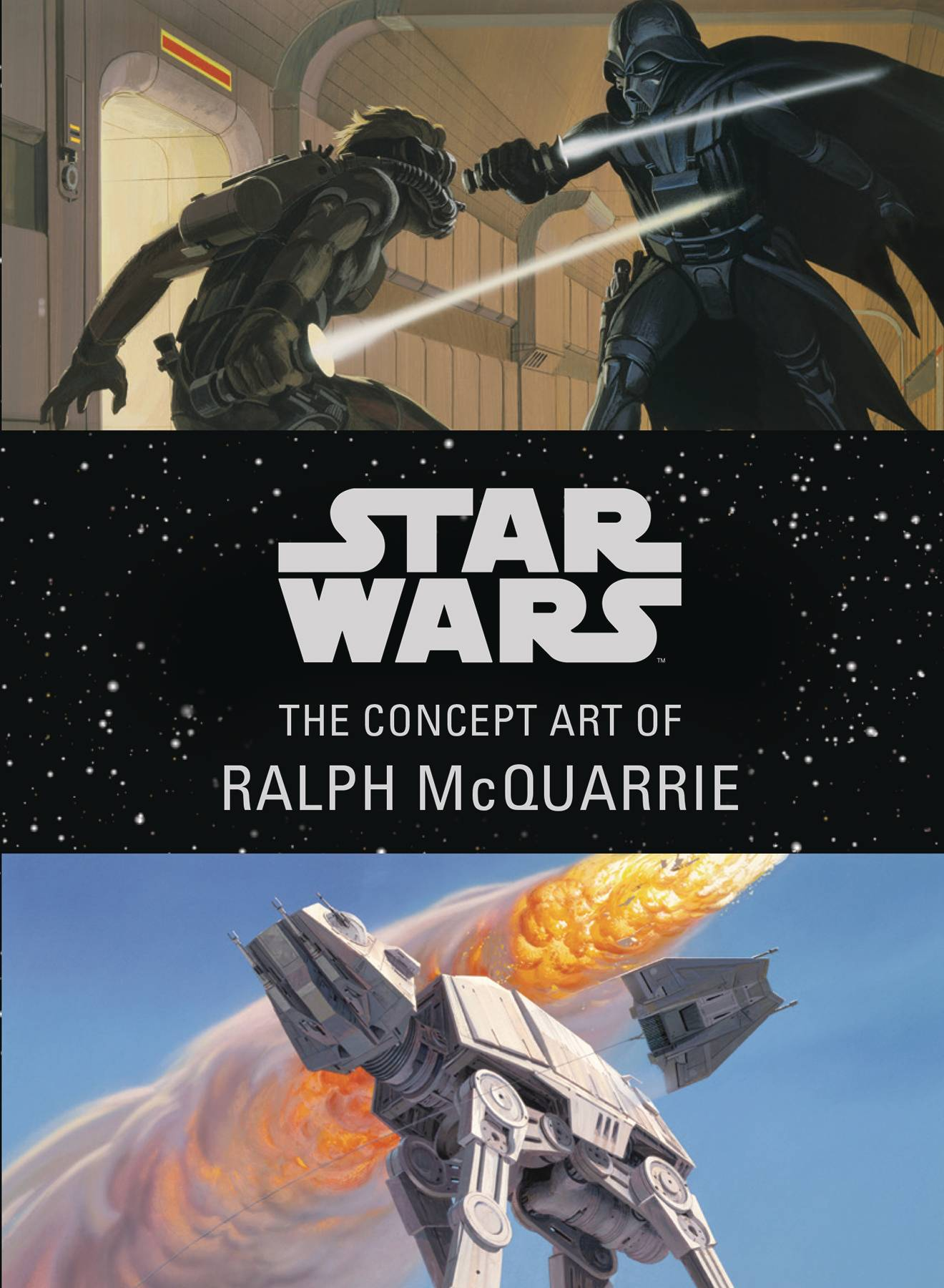 STAR WARS CONCEPT ART RALPH MCQUARRIE MINI HC