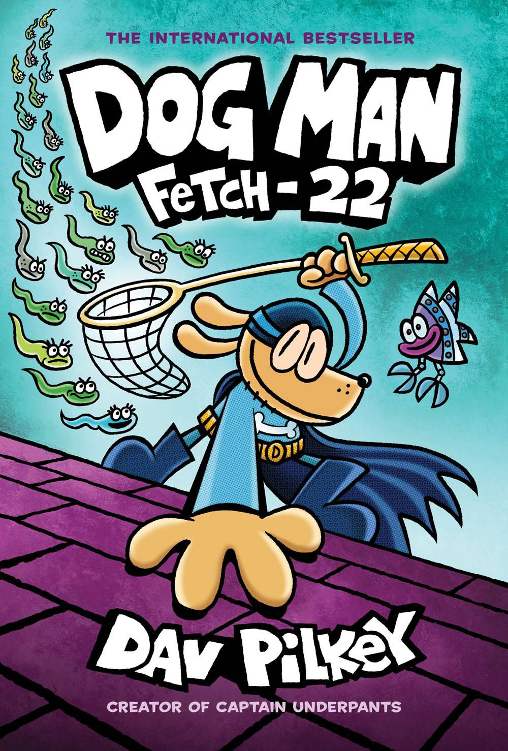 DOG MAN GN VOL 08 FETCH 22