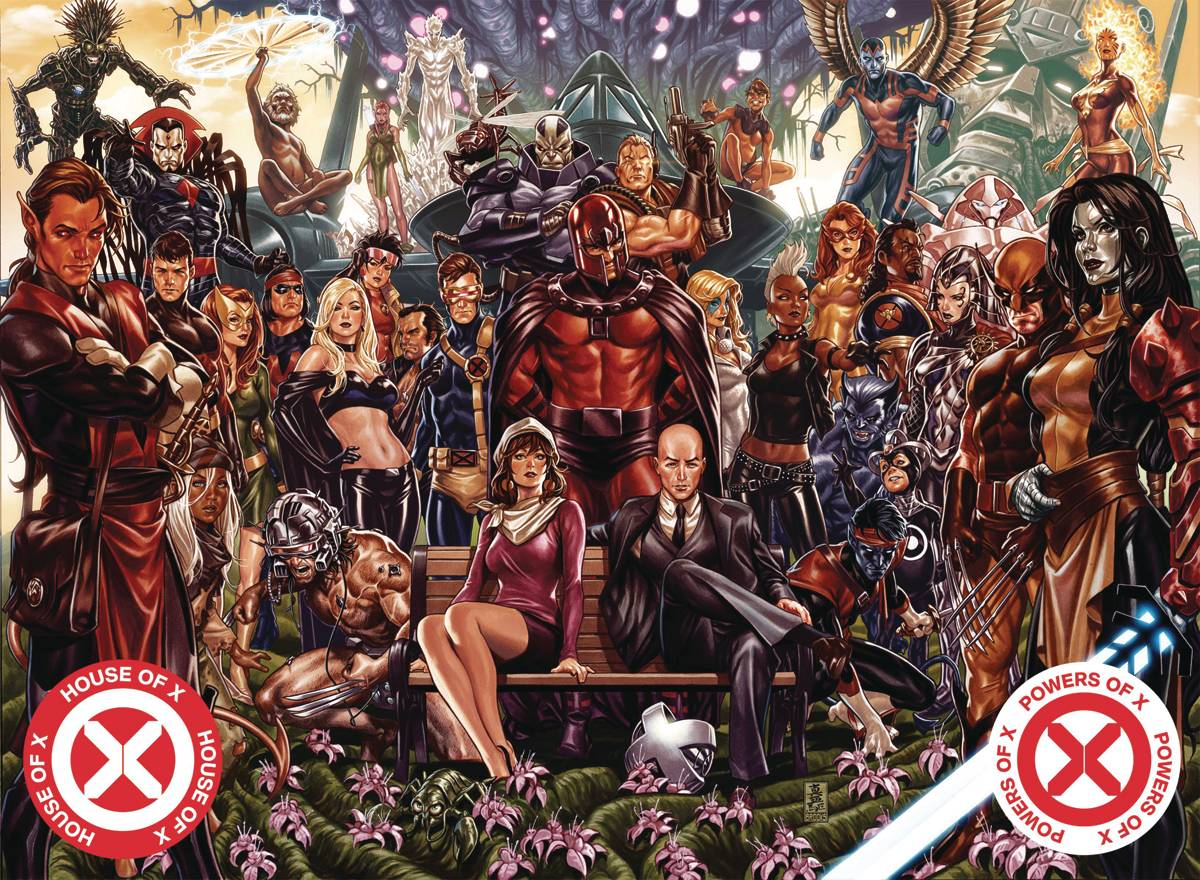 HOUSE OF X POWERS OF X HC