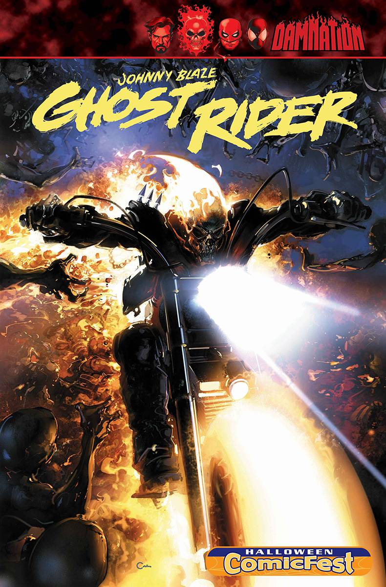 GHOST RIDER KING OF HELL #1