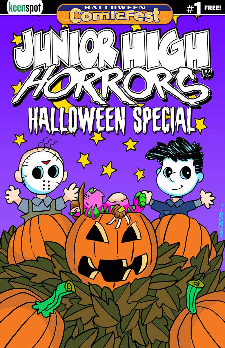 JUNIOR HIGH HORRORS HALLOWEEN SPECIAL #1
