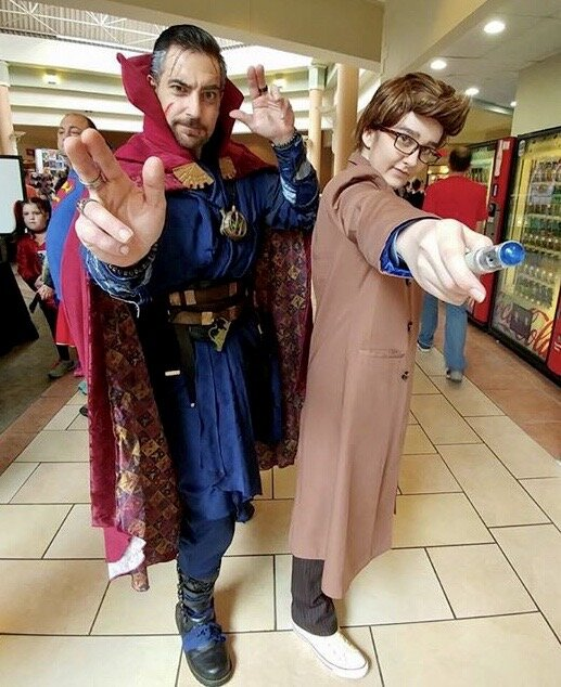 As the 10th Doctor with Kevin D Cosplay