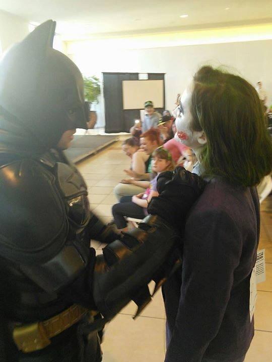 Confronting Batman at FCBD