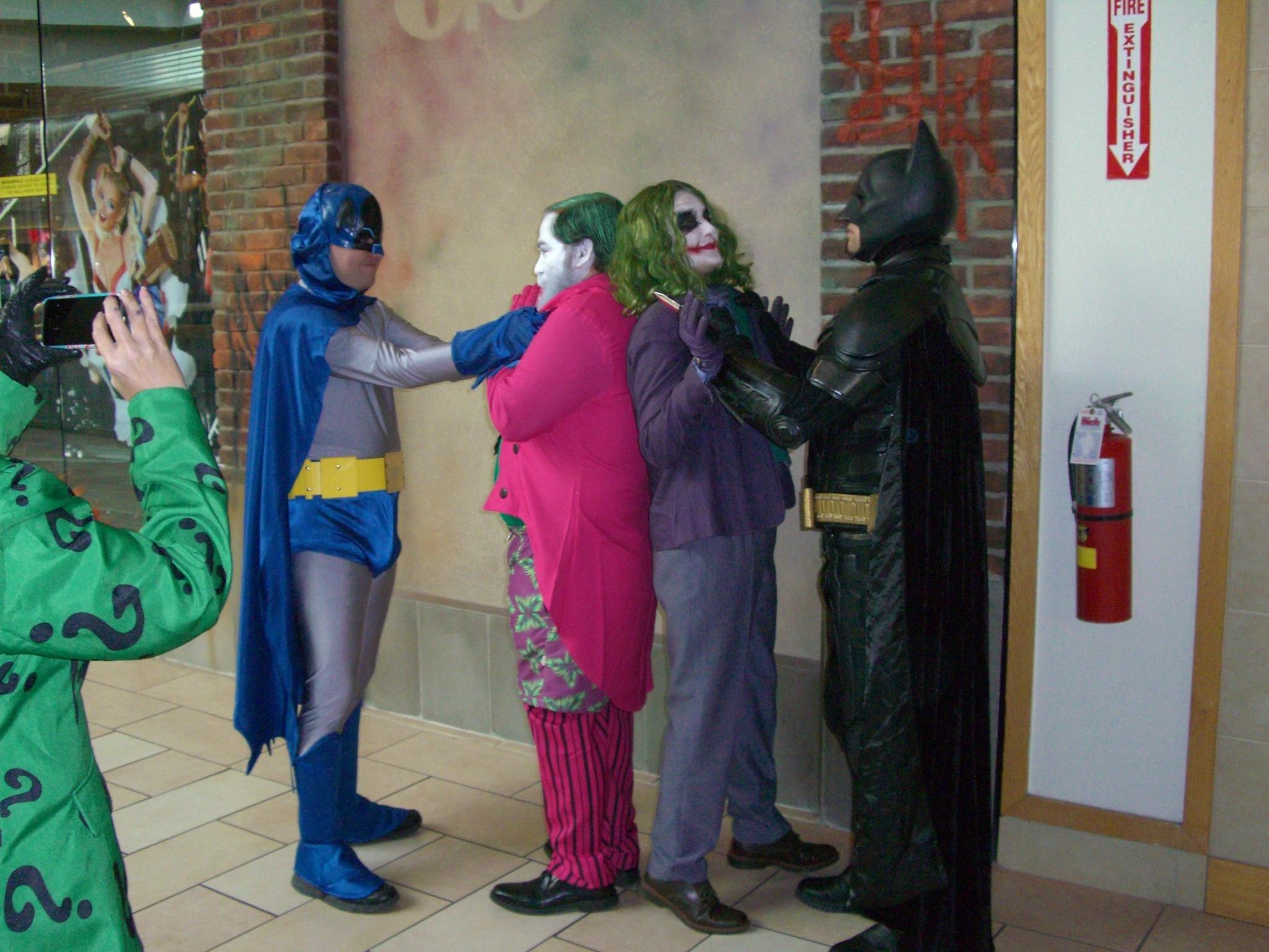 Batman ages crossover on Batman Day!