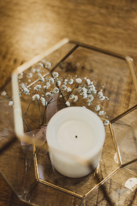 Wedding Center Piece Olivia Katherine Photography