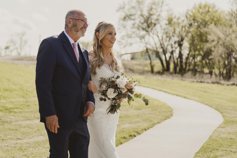Father of the Bride Wedding Olivia Katherine Photography