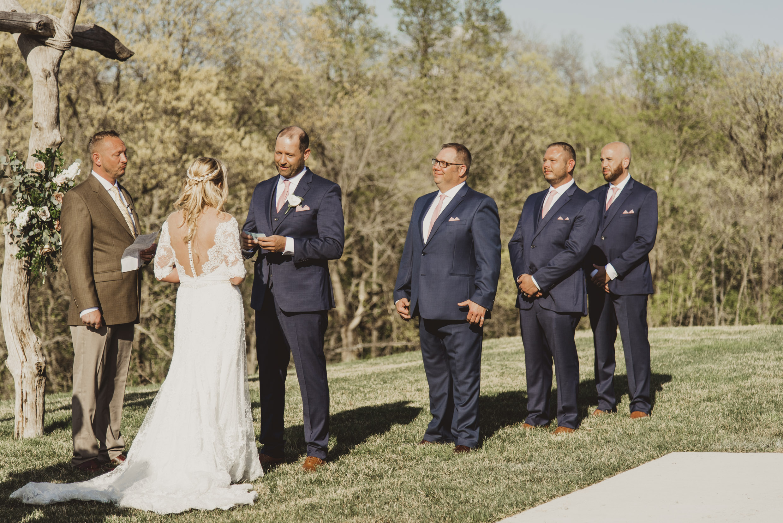 Groomssmen Wedding Ceremony Olivia Katherine Photography