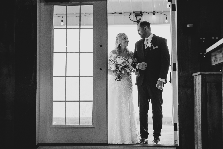 Bride & Groom Reception Entrance Olivia Katherine Photography