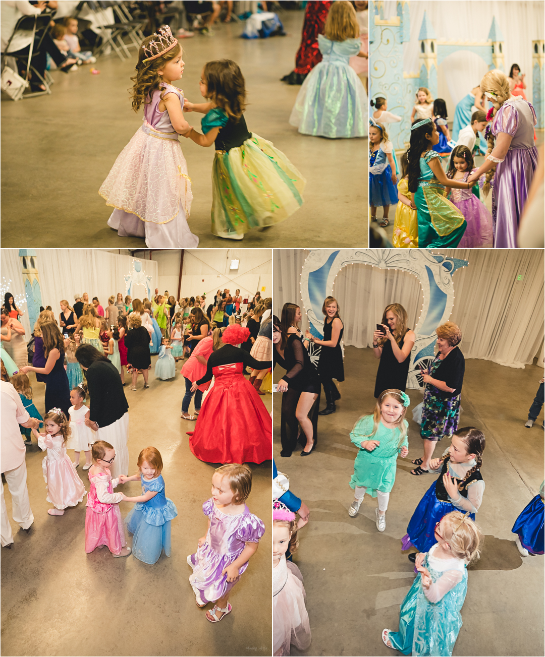 fun dancing with princesses
