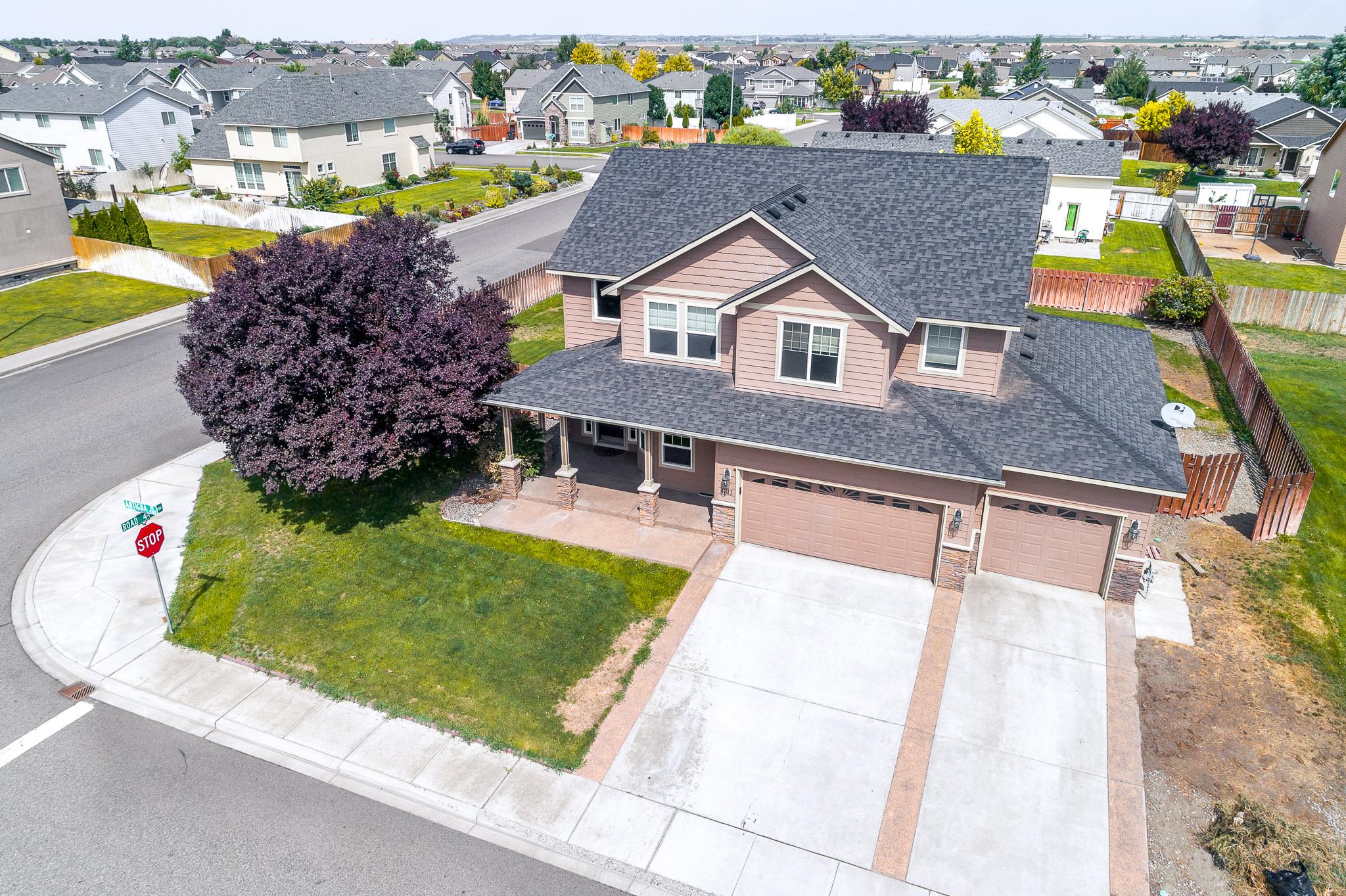 Tri-cities aerial real-estate
