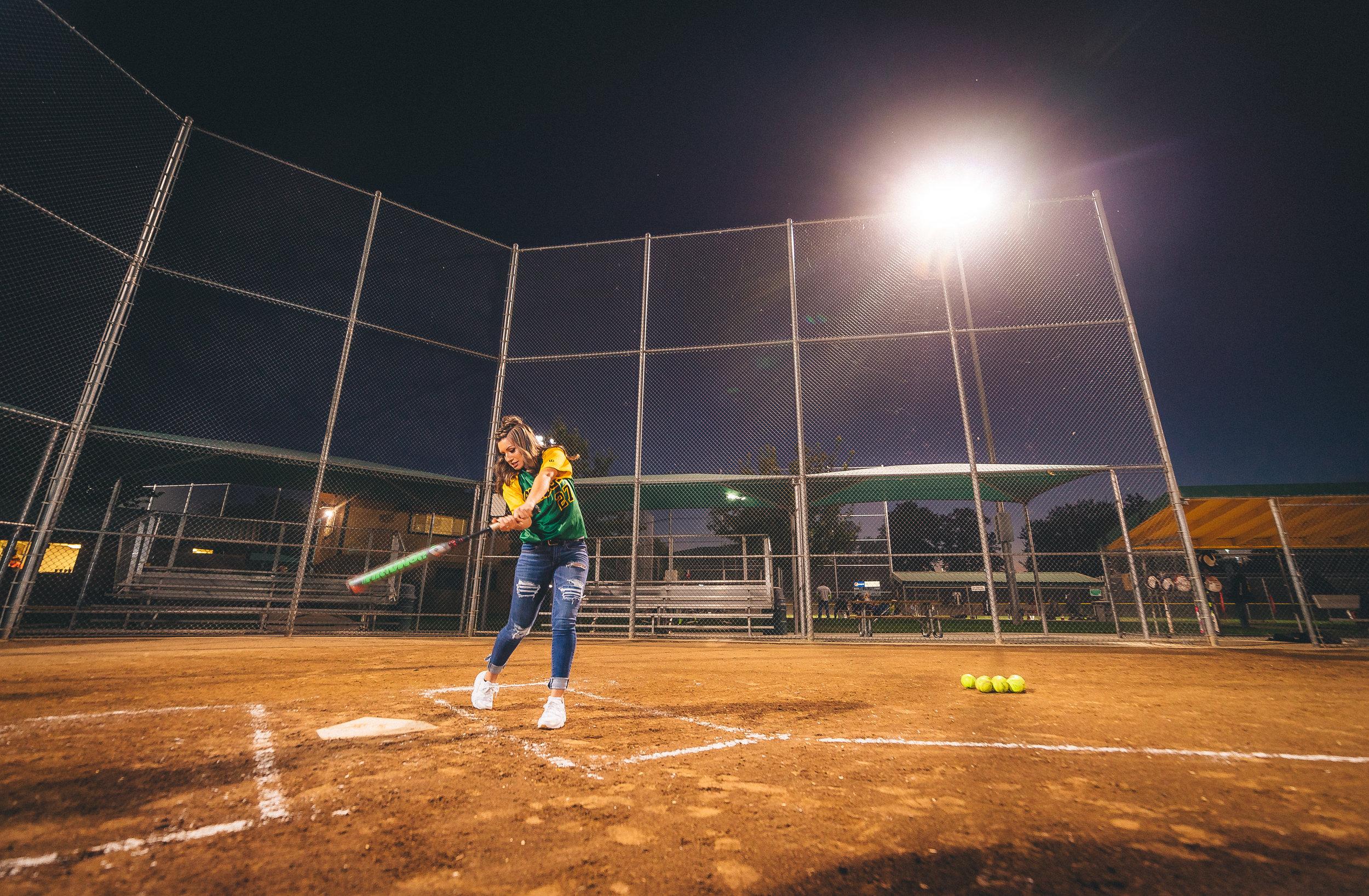 tri-cities softball senior photos