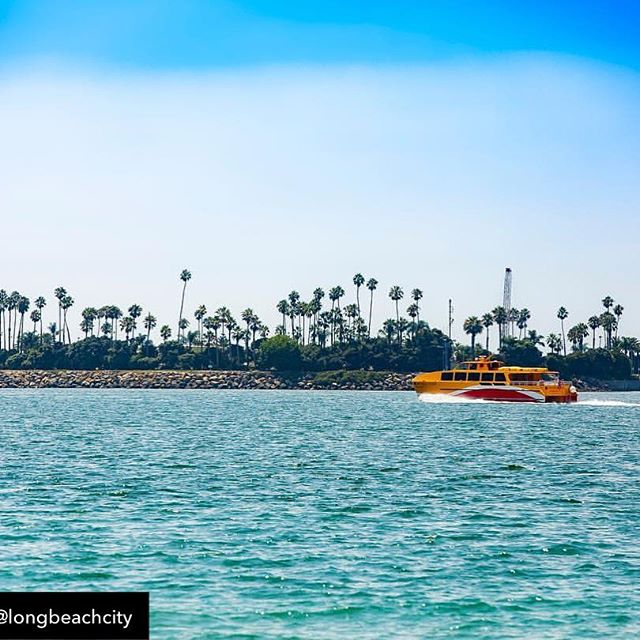 Repost from @longbeachcity - Starting this Friday, (May 24) @longbeachtransit will start its daily service of the water taxi 🚤 expanding their schedule — typically an activity only available on weekends — into a seven-day service.