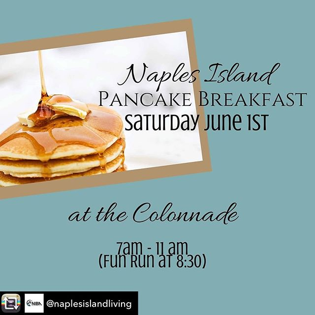 Next Saturday!  #naplesisland #pancakebreakfast #longbeacheats #lbc #longbeachevents