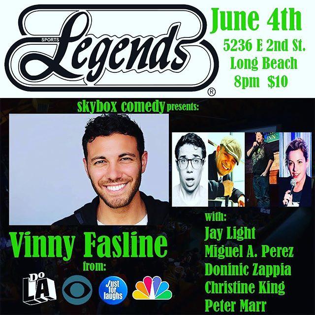 Next Tuesday night! 😆 😂  @legends_lb #comedyshows