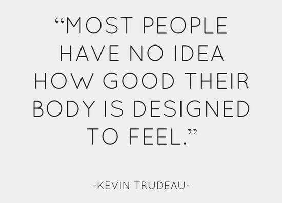 Feeling good quote