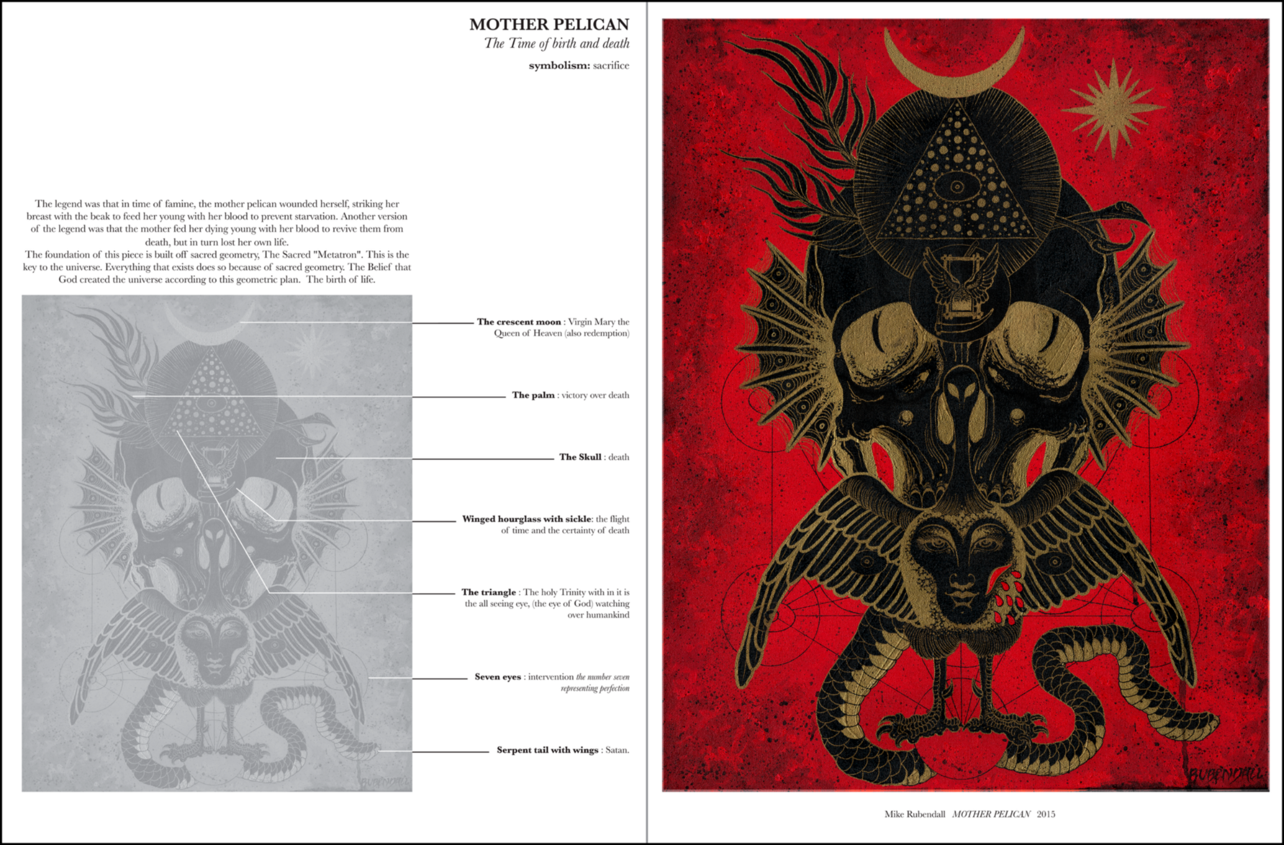 """The  COR MYSTERIUM series will be a multi-volume encyclopedia of tattoo symbology.Each volume will feature a diverse selection of artwork from the world's best tattooers and will define the symbolic meaning found in each component of every image.  Volume One:  """"The Classics"""", will focus on the traditional and iconic tattoo images that serve as the foundation of our craft.  With more volumes to come, we hope to decode some of tattooing's most timeless images and inspire tattooers and collectors alike to compose tattoos that are not only visually appealing, but speak to the soul in a language deeper than words."""