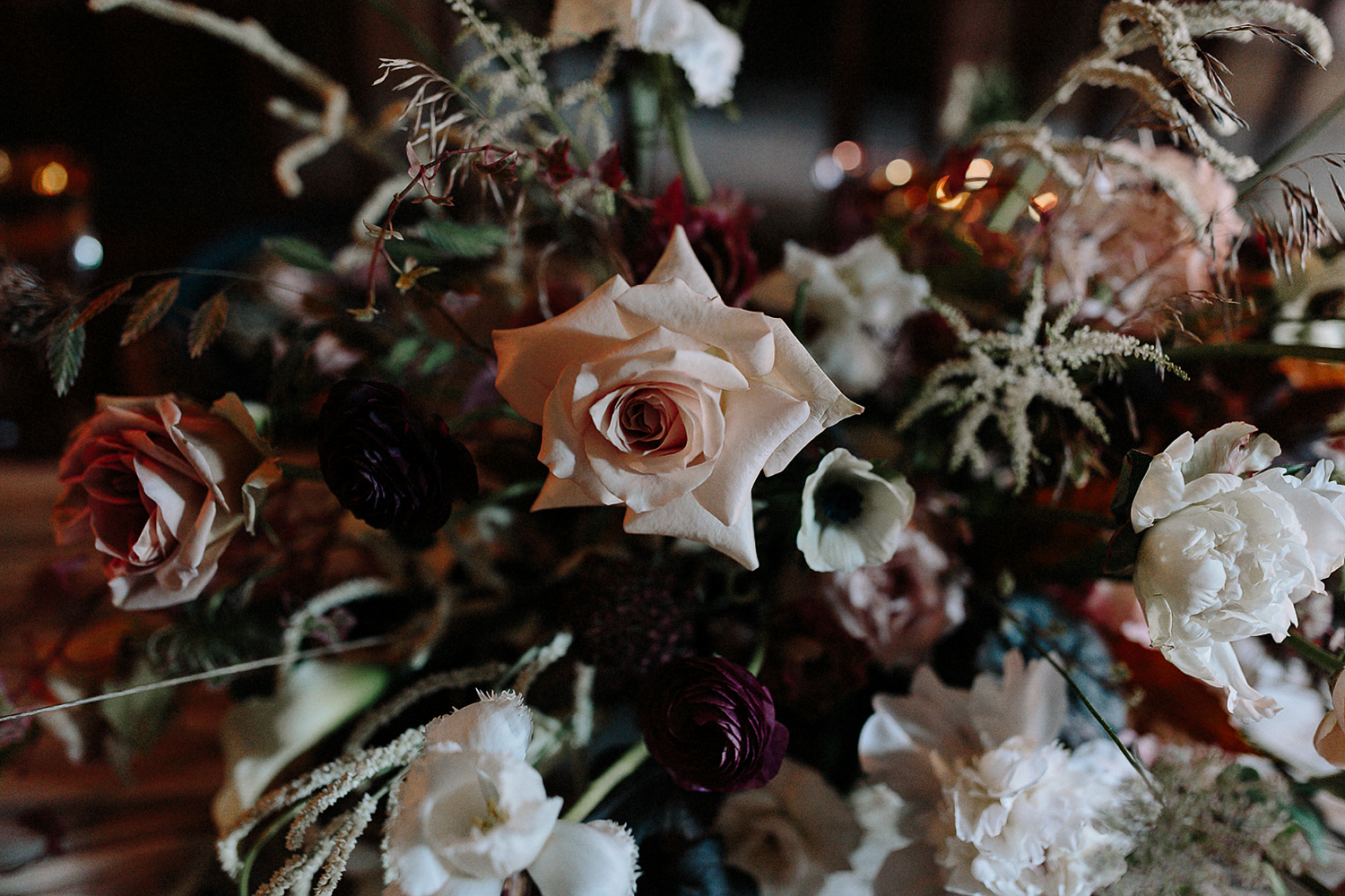 ryanne-hollies-photography-campbell-house-stylized-shoot-dining-room-vintage-inspired-rustic-bridal-tablescape-florals-candlelit-details-fine-art-moody-dark-wedding-hunt-and-gather.jpg