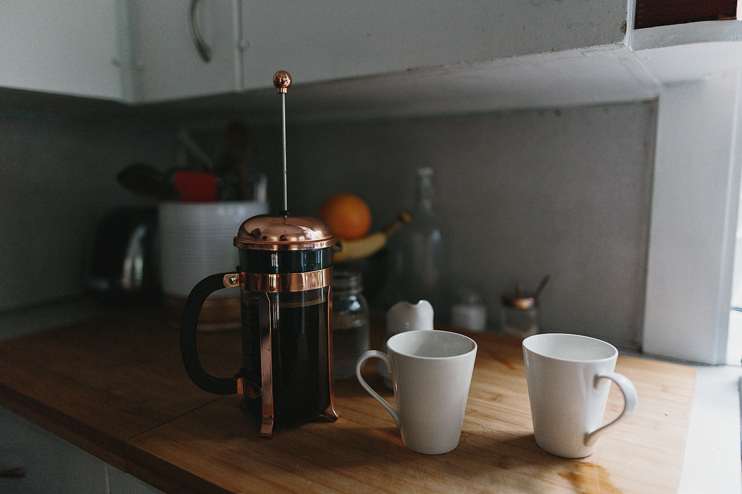 hamilton-toronto-vintage-old-home-rustic-inhome-maternity-session-toronto-maternity-photographer-ryanne-hollies-photography-details-kitchen-make-coffee-french-press.jpg