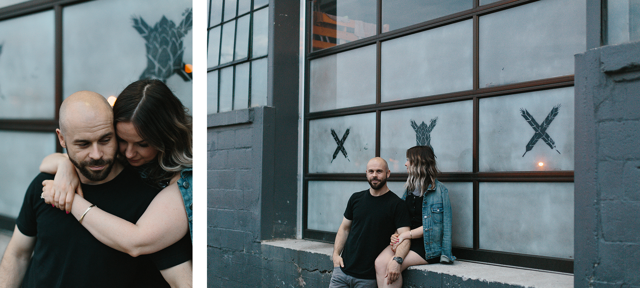 spread-10-downtown-toronto-wedding-photographer-ryanne-hollies-photography-junebug-wedding--natural-photos-engaged-in-toronto-rainhardt-brewery-engagement-photos-fun-enjoyable-badass-engagement-inspiration-trendy-hipster-cool.jpg