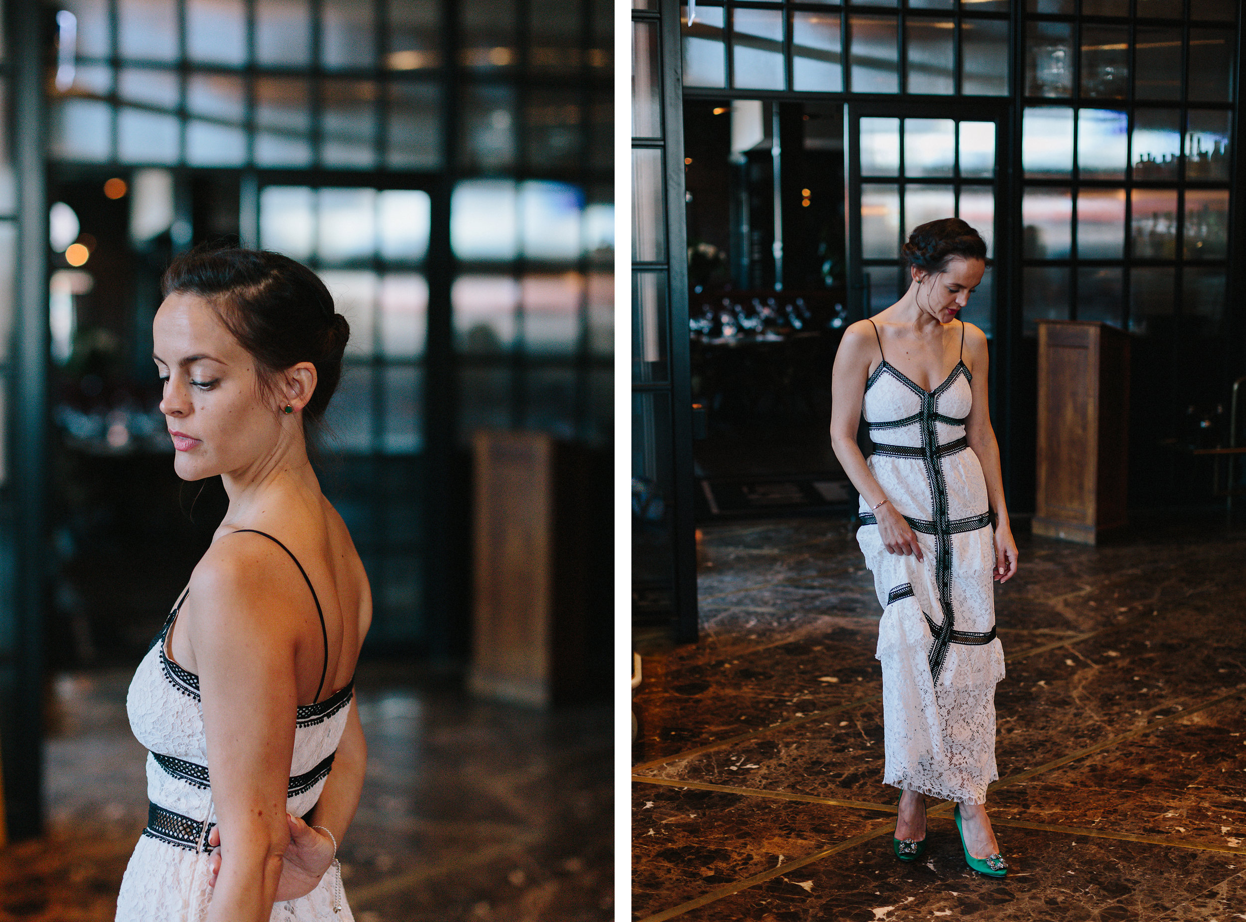 Graydon-Hall-Manor-Wedding-Toronto's-Best-Wedding-Photography-Ryanne-Hollies-Intimate-Small-Modern-Colourful-brunch-wedding-ceremony-bride-and-bridesmaid-entering.jpg