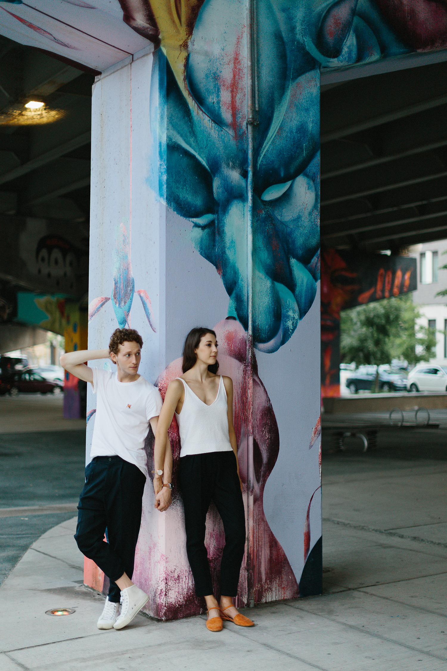 toronto-engagement-session-east-end-toronto-engagement-session-locations-underpass-park-engagement-alternative-hipster-wedding-photography-artistic-intimate-editorial-engagement-photos-weird-different-murals.jpg