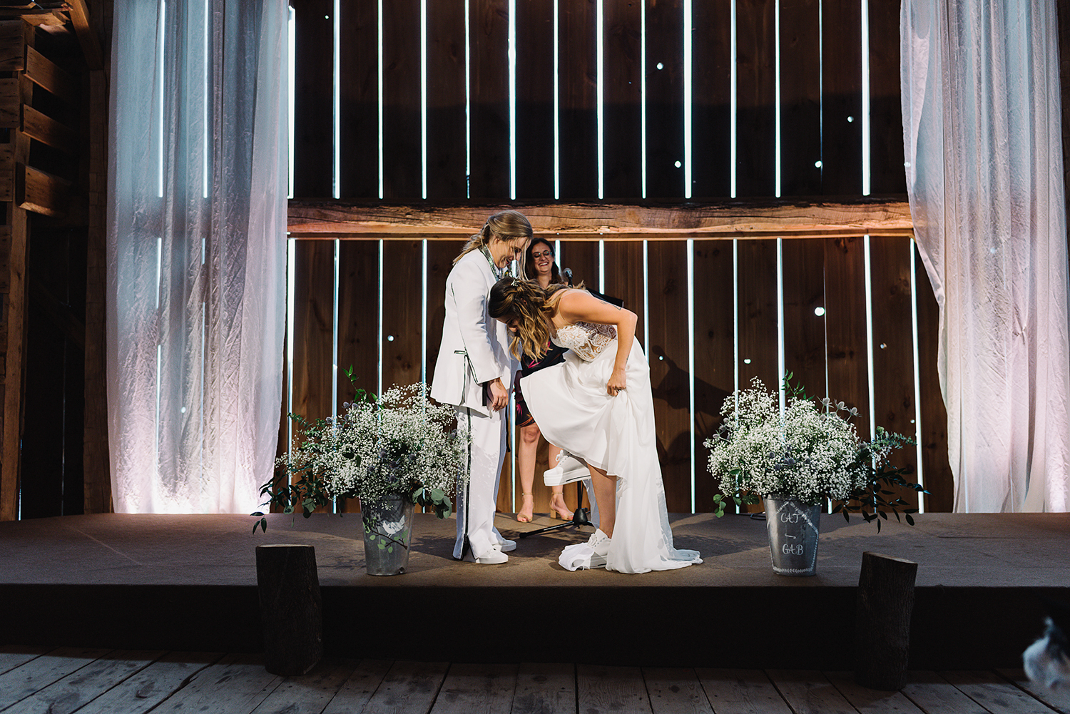 cambium-farms-wedding-ryanne-hollies-photography-gay-wedding-lgbtq-trendy-cool-badass-junebug-weddings-inspiration-ceremony-in-old-barn-bride-and-bride-vows-crying-reaction-support-gay-marriage-toronto-pride-2018-jewish-wedding.jpg