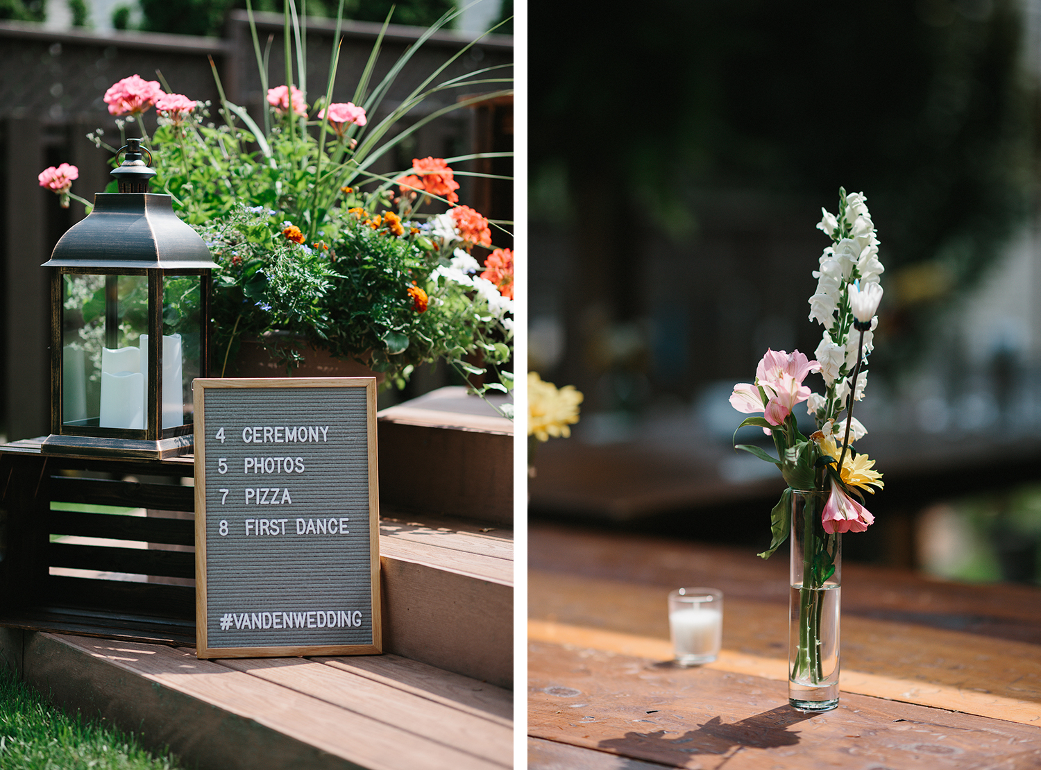 2-Backyard-family-intimate-cottage-wedding-chatum-kent-toronto-ontario-film-photographer-ryanne-hollies-photography-diy-string-lights-ceremony-space-flowers-and-wooden-tables.jpg