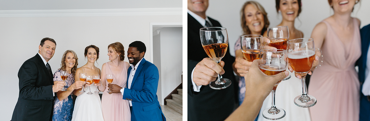 5-Best-Toronto-Wedding-Photographers-Photojournalistic-Wedding-Photography-in-Toronto-Ryanne-Hollies-Photography-candid-documentary-bradford-newmarket-bride-getting-ready-lea-ann-belter-bridal-cheers-rose-champagne-toast.jpg