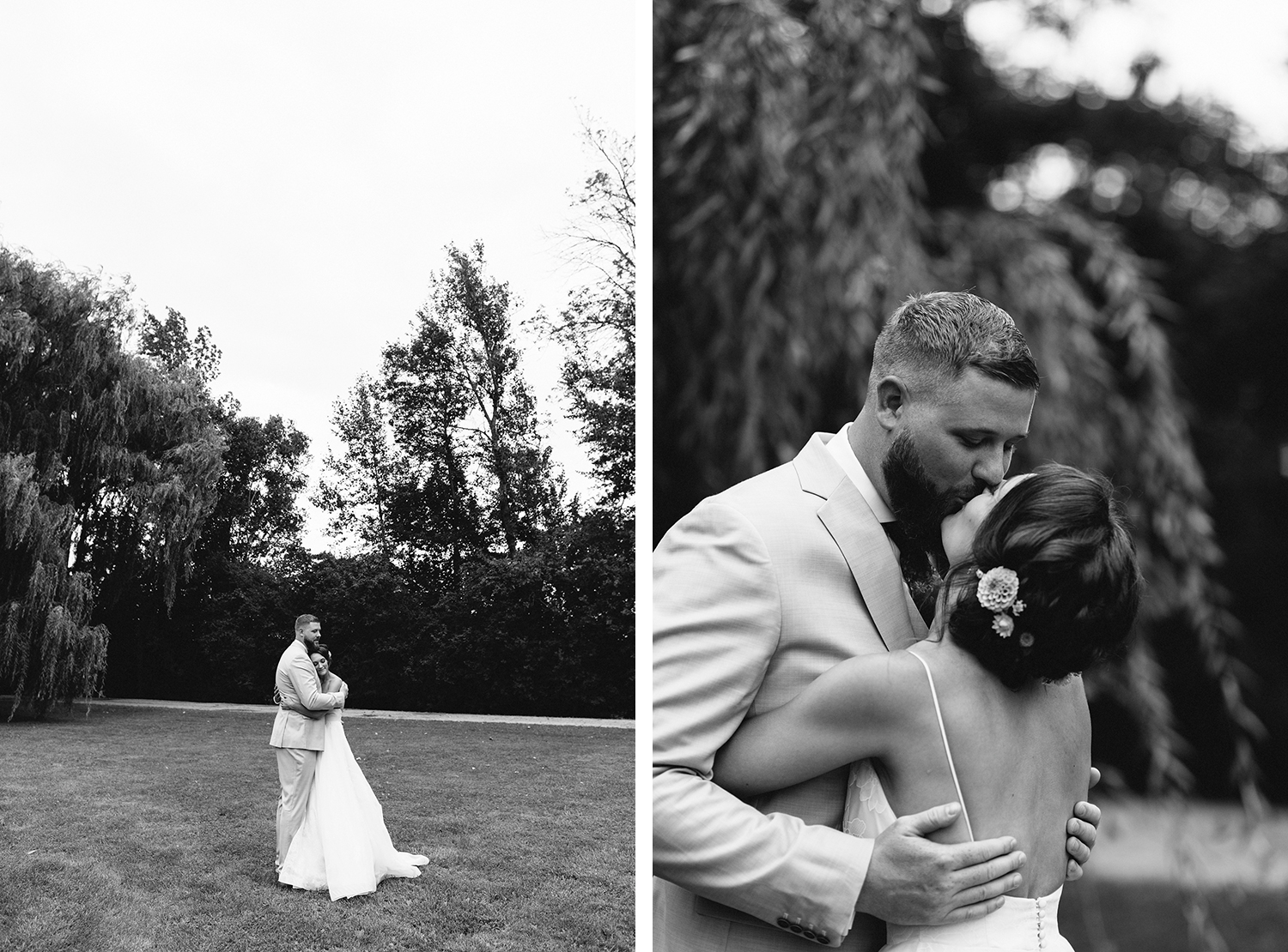 cambium-farms-wedding-toronto-wedding-photographer-ryanne-hollies-photography-gay-wedding-farm-wedding-inspiriration-candid-first-look-suprise-excitement-laughing-bw.jpg